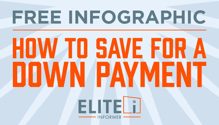 FREE Infographic - How to Save for a Down Payment