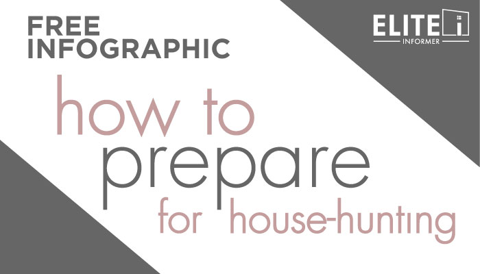 FREE Infographic - How to Prepare for House-Hunting