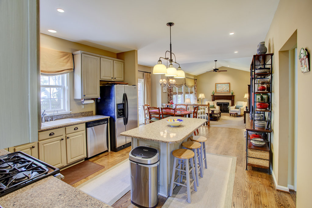 Open Floor Plan - Kitchen and Family Room