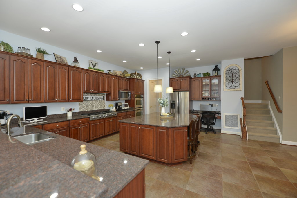 A View of the Kitchen at 36335 Silcott Meadow Place