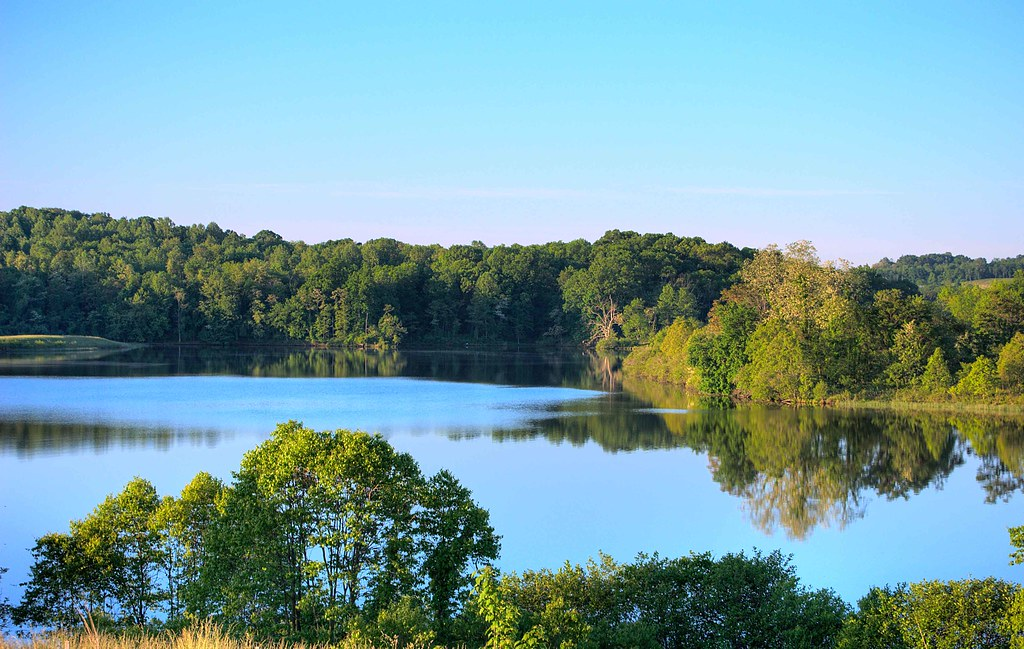 Sleeter Lake in Round Hill Virginia