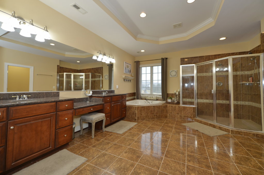 The Master Bath at 36335 Silcott Meadow Place