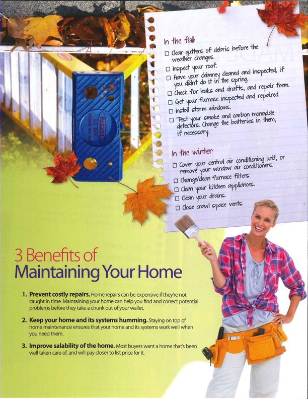 3 Benefits to Maintaining Your Home | Nelda Patterson, REALTOR®