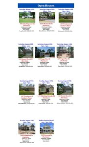 open houses august 18 19