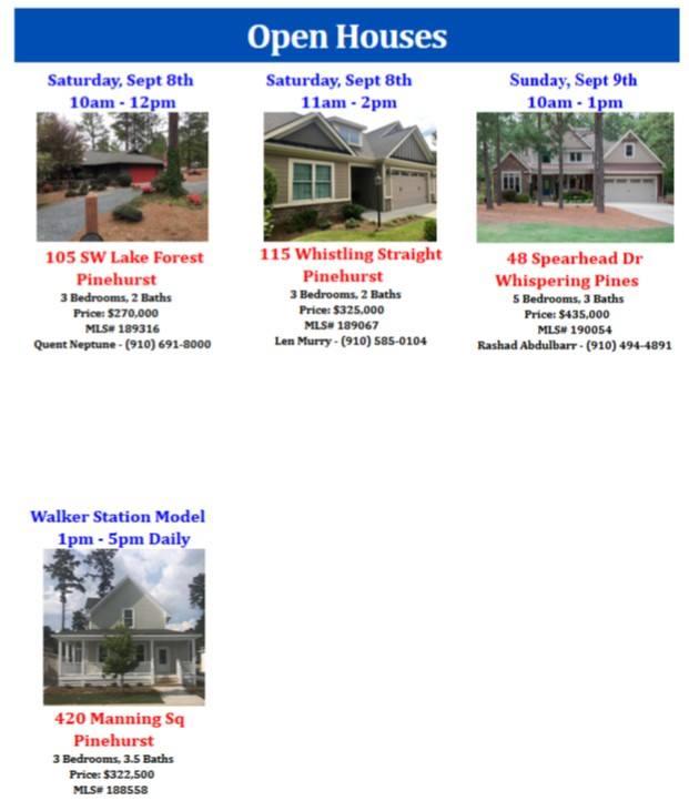 open houses 98 99
