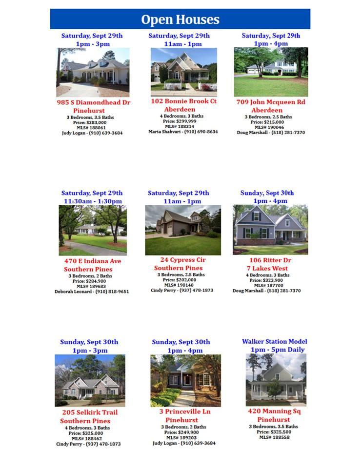 open houses 929 930