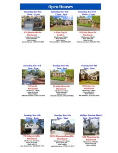 open houses november 2 3