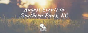 august southern pines events