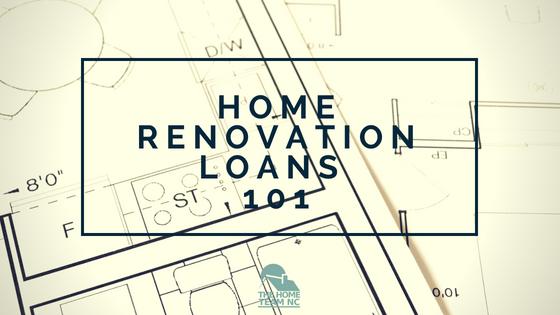 home renovation loans 101