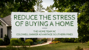 reduce the stress of buying a home
