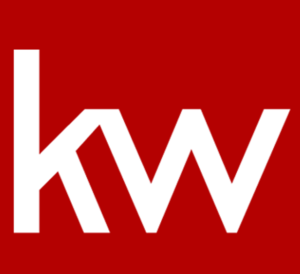 Keller Williams favicon white on red