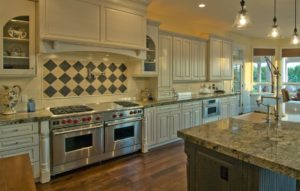 Luxury kitchen granite countertops