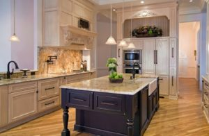 Luxury kitchen granite countertops 002