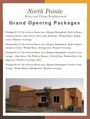 Havasu's Newest Gated Communtiy - North Pointe - Grand Opening Packages