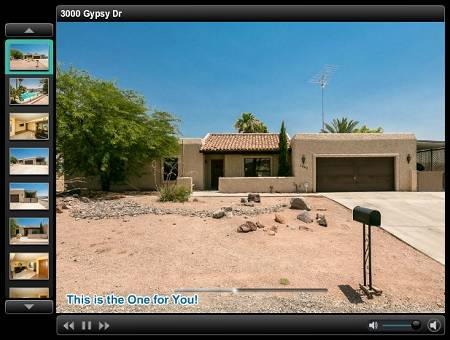 3000 Gypsy, Lake Havasu City, AZ - Click here to take a virtual tour of this great Havasu home for sale