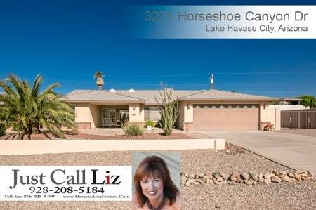 3271 Horseshoe Canyon, Lake Havasu, AZ - Click here to find out more about this great Havasu home for sale