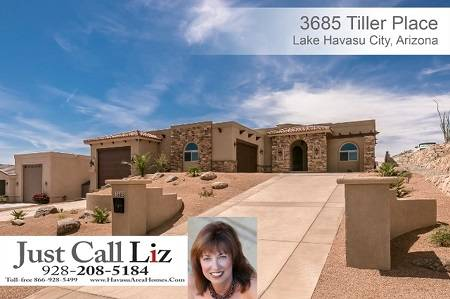 3685 Tiller Pl, Lake Havasu City, AZ - Click here to find out more about this and other homes for sale in Lake Havasu City