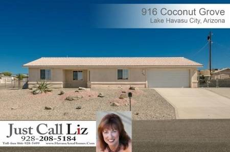 916 Coconut Grove, Lake Havasu City, AZ - Click here to find out more about this and other Lake Havasu homes for sale