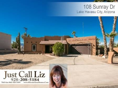 108 Sunray Dr, Lake Havasu City, AZ - Click here to find out more about this beautiful Lake Havasu home for sale