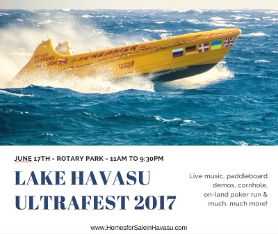 The Lake Havasu UltraFest 2017 Summer Boat Party makes a great way to show your dad a good time this Father's Day weekend in Havasu.