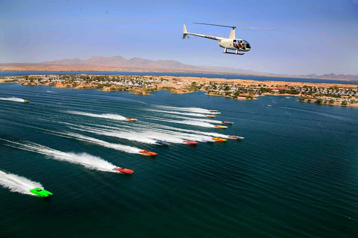 @LHCConventionVisitorsBureau The Lake Havasu Desert Storm Poker Run 2018 festivities kick off with a street party along McCulloch Blvd on April 18th. The poker run itself takes place on April 19th, with a boat parade through the Channel beforehand. And, finally, the Desert Storm Shootout finishes off the 3-day event with a bang on the 20th.