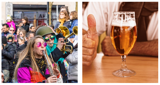 """Some of the fun Lake Havasu events going on this fall include the London Bridge Days Parade and the Chillin' & Swillin"""" Beer Festival."""