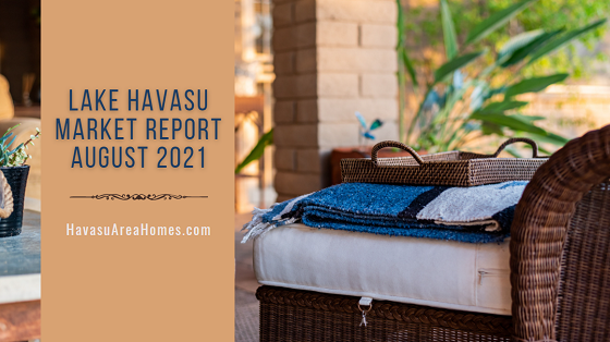 The Lake Havasu Market Report for Aug 2021 showed a slight softening of the market, with fewer sales and a lower median sale price. Buyers still need to get pre-approved for a loan before they start looking for a new home. Liz Miller Lake Havasu Az Real Estate