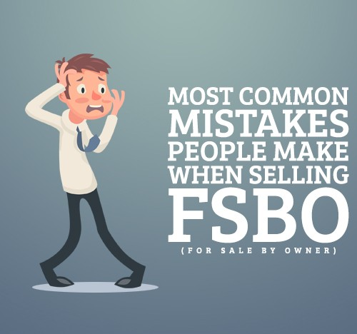 Most Common Mistakes People Make When Selling FSBO